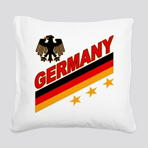 germany logo a Square Canvas Pillow