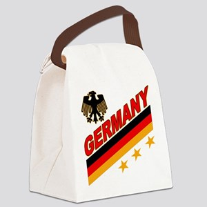 germany logo a Canvas Lunch Bag