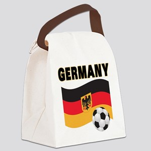 germany soccer Canvas Lunch Bag