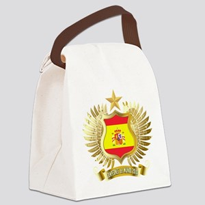 2010 spain champions Canvas Lunch Bag