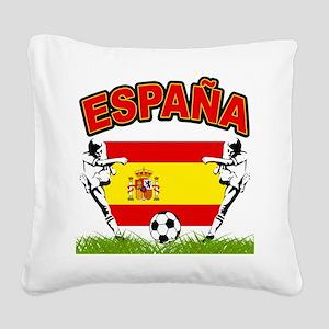 england Square Canvas Pillow