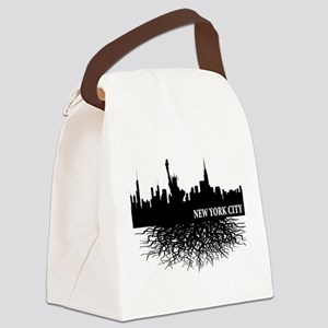new york city roots Canvas Lunch Bag