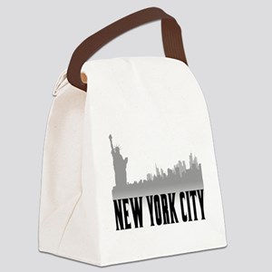 nyc Canvas Lunch Bag