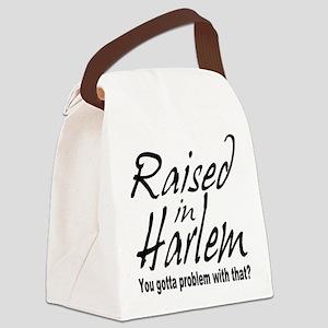 raised inthe bronx Canvas Lunch Bag
