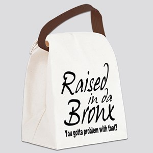raised inthe bronx Canvas Lunch Bag