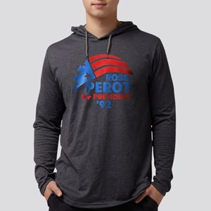 Ross Perot '92 Mens Hooded Shirt
