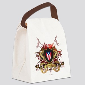 PR shield Canvas Lunch Bag