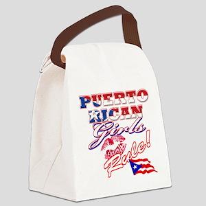 PR shield Canvas Lunch Bag