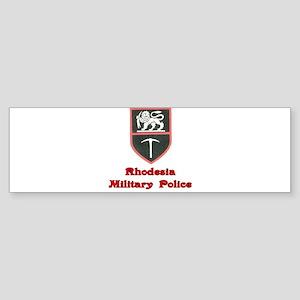 Rhodesia Military Police Sticker (Bumper)