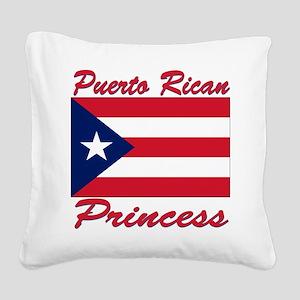 PR shield Square Canvas Pillow