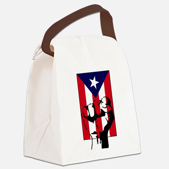 Boricua.png Canvas Lunch Bag