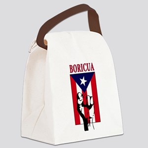 Boricua Canvas Lunch Bag