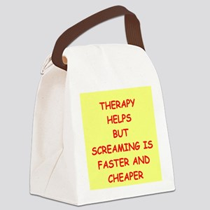 screaming Canvas Lunch Bag