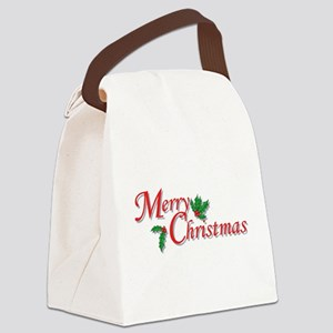 7-6-5-4-3-Merry Christmas T-Shirt Canvas Lunch