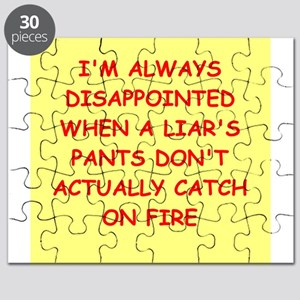 pants on fire Puzzle
