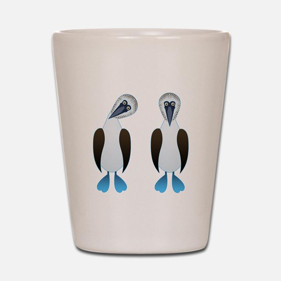 Pair of Boobys Shot Glass