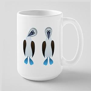 Pair of Boobys Large Mug