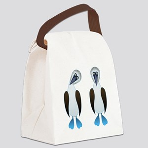 Pair of Boobys Canvas Lunch Bag