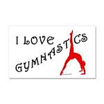 Gymnastics Car Magnet 20 x 12