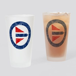 Norway Roundel Drinking Glass