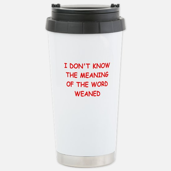 WEAN.ed Stainless Steel Travel Mug