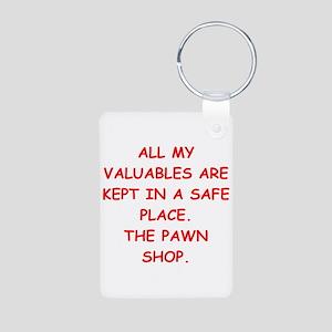 pawn shop Aluminum Photo Keychain
