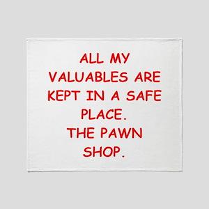 pawn shop Throw Blanket