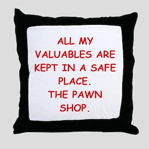 pawn shop Throw Pillow