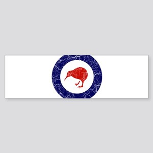 New Zealand Roundel Sticker (Bumper)