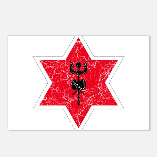 Nepal Roundel Postcards (Package of 8)