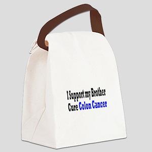 Colon Cancer Canvas Lunch Bag