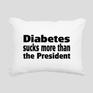 Diabetes Rectangular Canvas Pillow