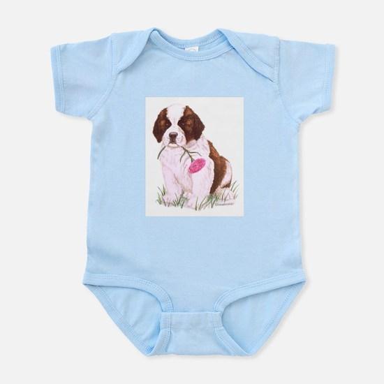Saint Bernard Puppy Infant Creeper