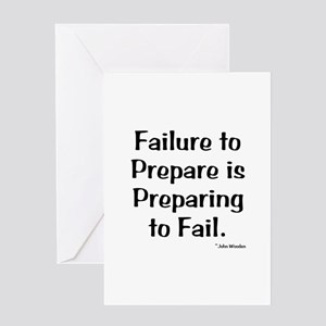 Failute to Prepare Greeting Card