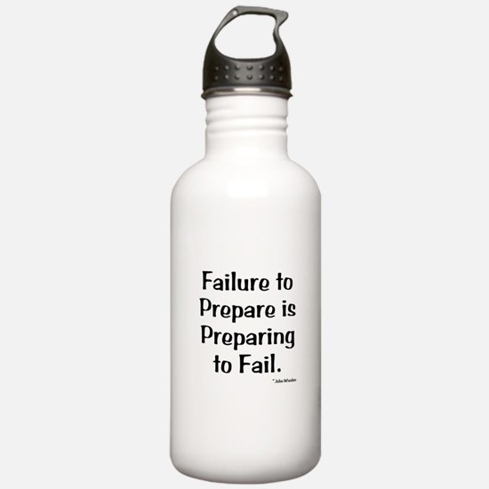 Failute to Prepare Water Bottle