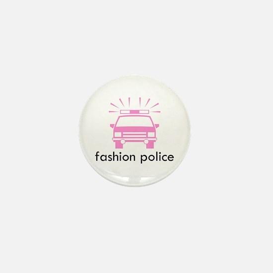Fashion Police Mini Button