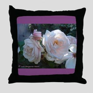 Perfect Roses Throw Pillow