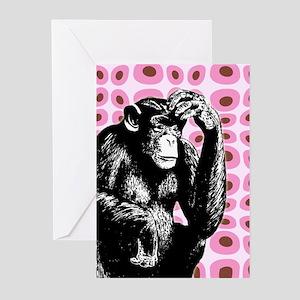 Monkey Cards (Pk of 10)