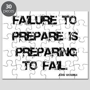 Failute to Prepare Puzzle