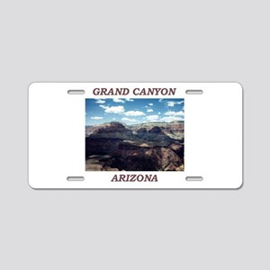 GRAND CANYON Aluminum License Plate