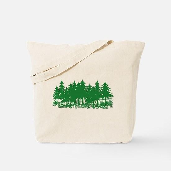 TREES/GRAND CANYON Tote Bag