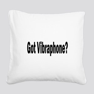 Vibraphone Square Canvas Pillow