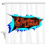 Poppermost Breakthru Shower Curtain 69x70