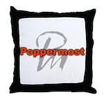 Poppermost Pm Logo Throw Pillow