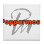 Poppermost Pm Logo Tile Coaster