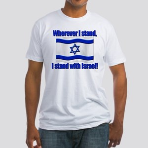 Wherever I stand! Fitted T-Shirt