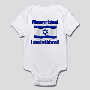 966b56f20 Israeli Flag Baby Clothes   Accessories - CafePress