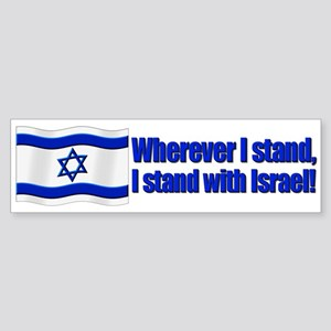 Wherever I stand! Bumper Sticker