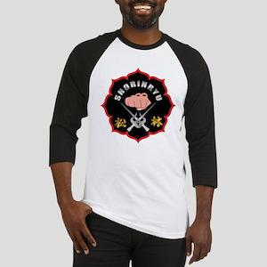 Black Shorin-Ryu Logo Baseball Jersey