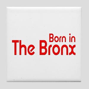 Born in The Bronx Tile Coaster